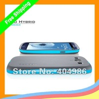MOQ 1pc  Newest SGP NEO Hybrid Color Series Hard Case for Samsung Galaxy S3 SIII i9300 with retail BOX + CPAM Free Shipping