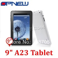 OEM 9 inch Allwinner A23 Tablet PC Allwinner cpu 8GB Nandflash 512M memory Capacitive 5 Point Touch Screen with WIFI usb 3G