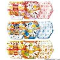 Free Shiping 27pcs/lot New 3 layers Baby Training Pants Boy Girl Cloth Panties Infant Diapers Nappies Shorts Briefs #002