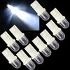 Free Shipping 10X 168 194 501 W5W Car LED Light Side Dashboard Wedge Light T10 Bulb Cool white