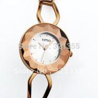 Original Brand Eyki Kimio New Dress Clock fashion Crystal Bracelet Watch  women Stainless Steel Watches Wristwatches Relogio