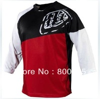 No.6652 Troy Lee Designs TLD Ruckus MTB Jersey MX Offroad Cycling Bicycle cycle  Bike Sports Jersey Clothing T-shirt Blk/red