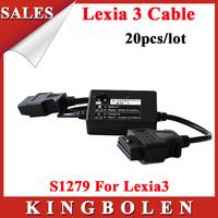 [20pcs/lot] Wholesales 2014  Newest Professional Diagnostic Scanner S1279 For Citroen/Peugeot Lexia DHL Free Shipping