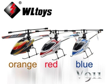 hot selling WL V911 RTF 4CH 2.4G Mini Radio single blade RC Helicopter with Gyro LCD display WLtoys