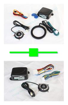 1 pcs car engine push start stop button/RFID engine lock FS-55 + 1 pcs engine push start button FS-50 keyless go