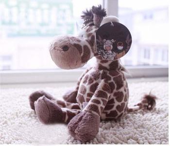 Free Shipping Velvet Madagascar Giraffe Toy Pendant