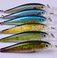 6pcs/lot fishing tackle Hot-selling Top Quality Fishing Lures 6 color 11.5cm/11g fishing bait free shipping