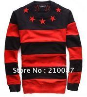 Bigbang 2012 F/W  Hot Stars & Stripes  Fleece thick  Sweater  For Lovers
