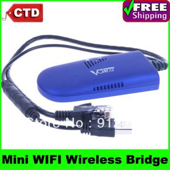 VAP11G RJ45 Mini WIFI Wireless Bridge For Dreambox Xbox PS3 PC Camera TV , IEEE 802.11B/G Wifi Connector