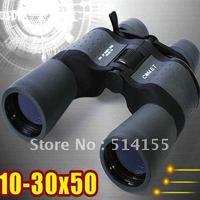 10X-30X Zoom Binoculars  With High Power  Folding Binocular Telescope 68M/1000M free shipping