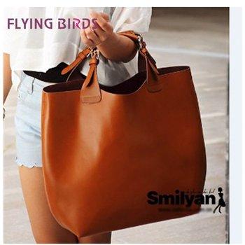 FLYING BIRDS 2014 Hot Best women leather Handbag  Fashion Woven Belt handbags Women shoulder bag High Quality  WH120