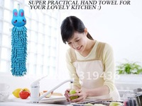2014 Free Shipping Hottest Aliexpress Wholesale High Quality  Microfiber Hanging Hand Towels Cartoon Character For Home Kitchens