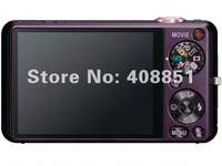 "Free shipping JWD Digital Cameras with video, 2.7"" TFT screen, 5X optical zoom, is gift camera and cheap"