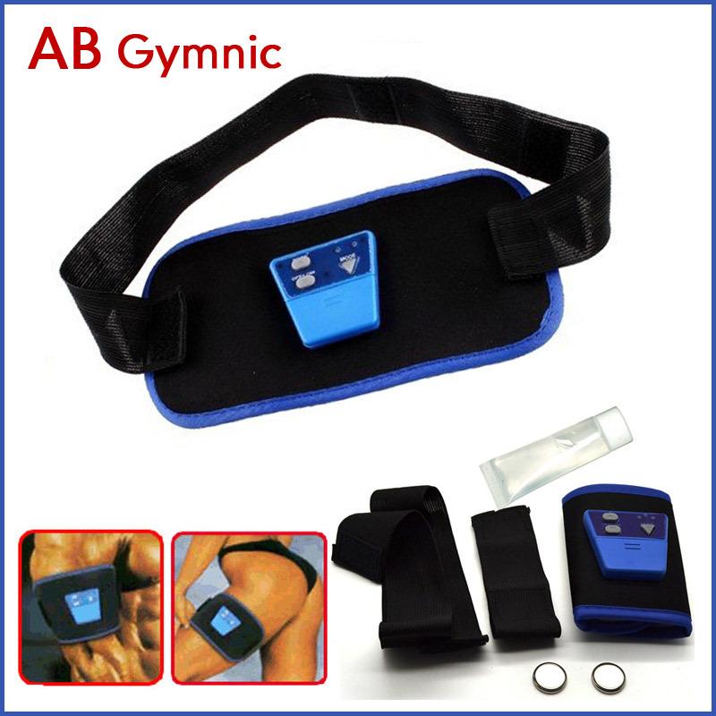 Electronic Muscle AB Gymnic Slimming Massage Belt For Waist & Arm & Leg Free Drop Shipping(China (Mainland))