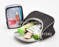 Free Shipping, Travel Wash Bag and Toiletry Make Up Bag 2 sets, Women Cosmetic Bag