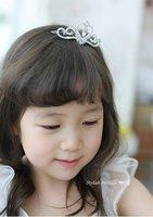 Free shipping 6pcs/lots guaranteed 100% children birthady tiara special CROWN Tiara Baby Princess crown headwear hot sale