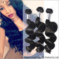 "16""to 24"" natural wave free shipping 3pcs/lot romance curl Peruvian virgin remy hair"