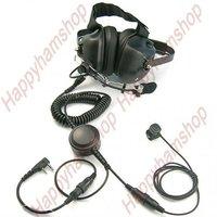 Walkie talkie Super Deluxe noise cancelling headphone for Kenwood Wouxun Quansheng Puxing Baofeng two way radios