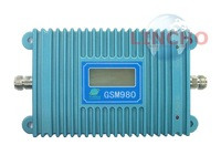 lcd display function 980 gsm 900mhz mobile phone signals booster repeater cover 2000 square meter