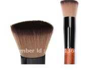 Face Buffer super soft Wooden Brush Synthetic Flat Top Foundation makeup tool