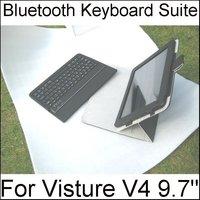 Bluetooth Keyboard Suite Leather Case Design for VISTURE V97 HD Yuandao N90 FHD V99 100% perfect match