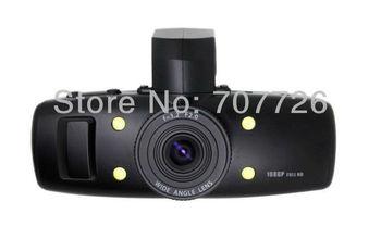 Supernova Sales Car DVR with car camera (Interpolation)1920*1080 720P GS1000K recorder Christmas Drop shipping