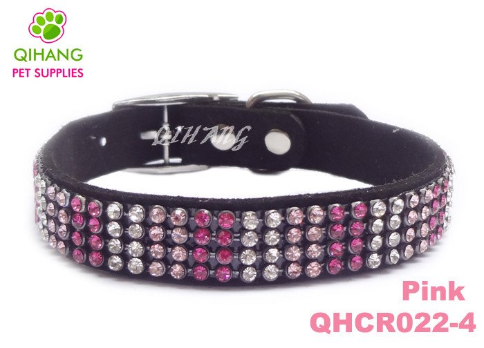 New arrivals colorful crystal pet collars with bling rhinestones,dog collars Free shipping,MOQ 30pcs(China (Mainland))