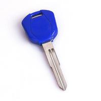 Blade Blank Key Motorcycle CBR 600 F4 F4i 929 954 1000 1100XX CB Blue For Honda