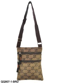 2015 Fashion Letter Pattern Men Shoulder Bag Classic Zip Design Men Messenger Bags QQ907e