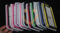 10pcs/lot Soft case for iphone 5 Bumpers Frame for iphone 5 with retail package Free shipping(China (Mainland))