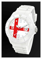 Free shipping new product for 2013 silicone cheap Bristish flag watch,watches men