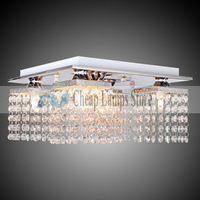 Free Shipping Crystal, Modern/Comtemporary Beaded Ceiling Light with 5 lights in Crystal for Living Room, Bedroom, Hallway