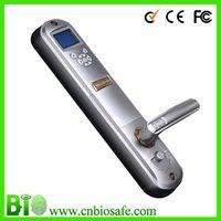 High Security Outdoor Fitness Fingerprint Management  Door Locks with Water-proof  HF-LE211 hotel door lock with free sdk kit