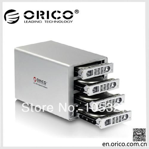 """Orico 3549ui3 4 bay 3,5"""" aluminium externen hdd gehäuse mit Firewire-Schnittstelle von Apple-Produkten"""