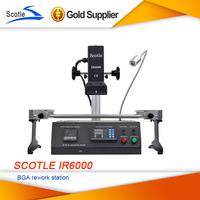 New Arrival Scotle IR6000 V4 220V Infrared BGA Rework Station Upgrade from Achi ir6000 Solder Station