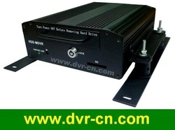 H.264 Compression, 4 channels Realtime Car or Bus DVR, 2.5&#39; HDD + SD Card Storage Standalone Vehicle DVR(Hong Kong)