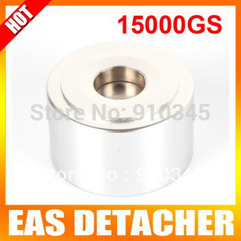 Strong Detacher Magnetic Force 15,000GS Security Detacher Tag Remover EAS System Color Silvery