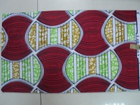 ! african veritable wax fabric! african cotton real wax printed fabric! 1261-4