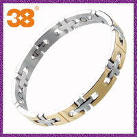 steel fashion magnetic bracelet 2014 new products