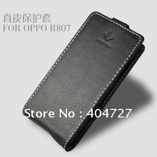 New Arrival Low Margin Genuine Leather Case Upper & Down Open For ZTE V970 with screen protect Film bundle Freeshipping(SG POST)