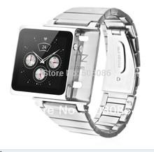 1pcs Rerfect Protective iWatchz ELEMETAL Aluminum Wrist Watch band case for iPod Nano 6 6G Watch(China (Mainland))