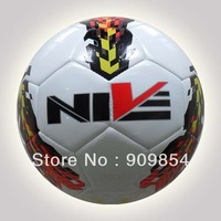 Free shipping TPU soccer ball/football, Official size 5 & weight, High quality with cheap price