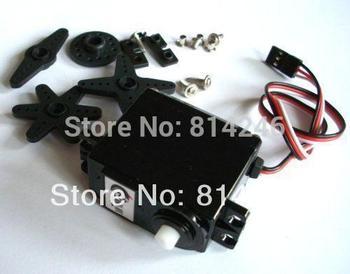 Free shipping,  10pcs  360 degree continuous rotation servos smart car robot DC gear motor