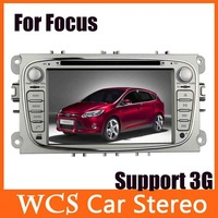 New In Dash Car Radio CD DVD MP3 Player W/GPS Receiver Audio Aux Carpc For Ford Foucs Mondeo S-MAX 2007-2011