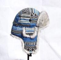 High-quality Faux Fur warm cotton russian cap women hat with free shipping