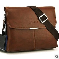 Free shipping/2012 new design Men bag shoulder bag messenger bag  leather bag 32*25*8cm
