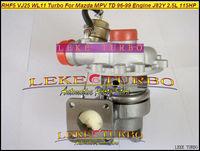 Wholesale NEW RHF5 VJ25 WL1113700 Turbine Turbo Water cooled Turbocharger For Mazda B2500 MPV 1996-1999 Engine J82Y 2.5L 115HP