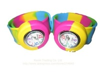 Free shipping!! Silicone colors wrist watches for kids/wholesale/20 pieces/lot/KT3