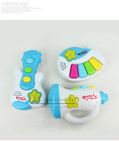 New Year Kids Educational Toys Piano Trumpet Guitar Dream Music Best New Style Leanring Toys For Child Play CT21005-04^^EI