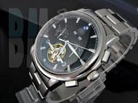 Mechanical Watch Black Facade. For Bimmer Fans. - Code: A036